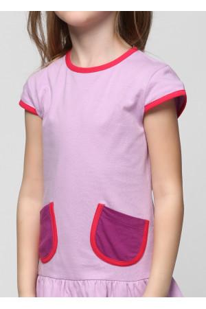 Плаття «Фенті» бузкового кольору