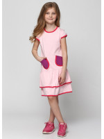 Платье «Фенти» розового цвета
