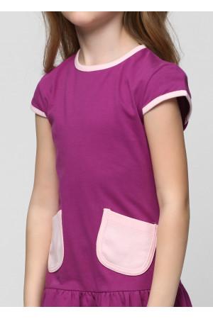 Плаття «Фенті» кольору фуксії