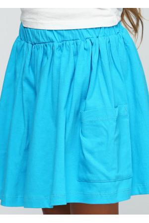 Спідниця «Амелі» блакитного кольору