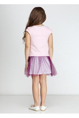 Сарафан «Мінні фешн» рожевого кольору з фуксією
