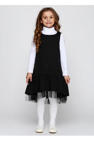 Сарафан «Порфео» чорного кольору