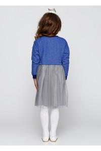 Плаття «Клайсі» синього кольору з синім