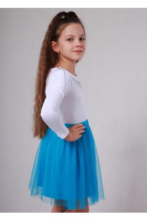 Спідниця «Вернісаж» блакитного кольору