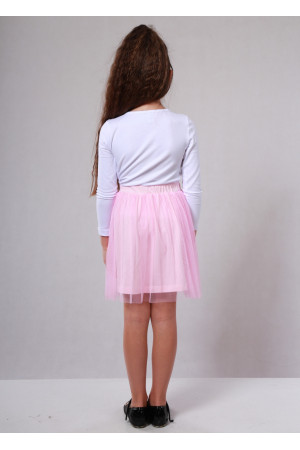 Юбка «Вернисаж» розового цвета