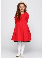 Платье «Чаруша» кораллового цвета