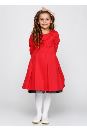 Сукня «Чаруша» коралового кольору