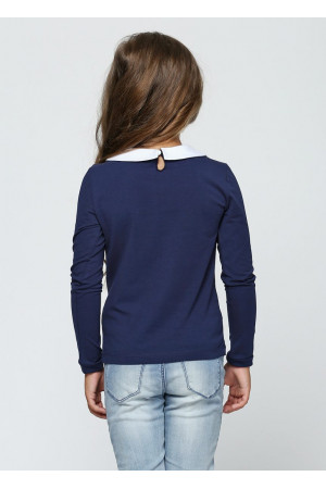 Джемпер «Одри» синего цвета