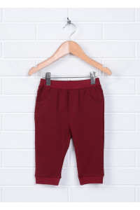 Штани «Квентін» бордового  кольору