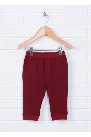 Штаны «Квентин» бордового  цвета