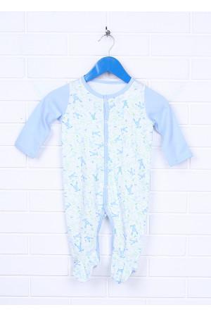 Комбинезон «Степ» голубого цвета
