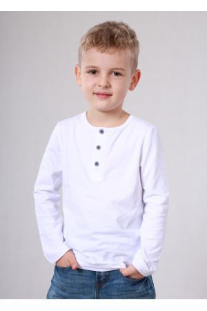Джемпер «Сториз» белого цвета