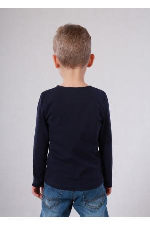Джемпер «Сториз» темно-синего цвета