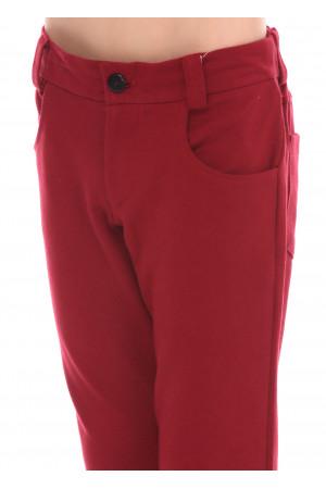 Штаны «Степси» красного цвета