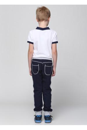 Штани «Джонго» темно-синього кольору