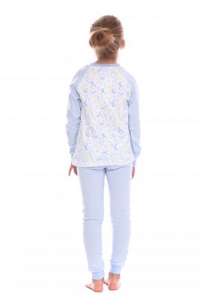 Пижама «Эстерзи» голубого цвета