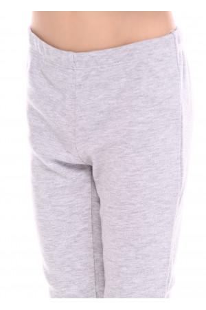 Піжама «Карі» сірого кольору з червоним
