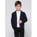 Піджак «Кростер» темно-синього кольору