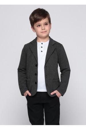 Пиджак «Кростер» серого цвета