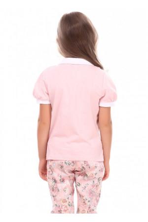 Джемпер «Крокси» розового цвета КР