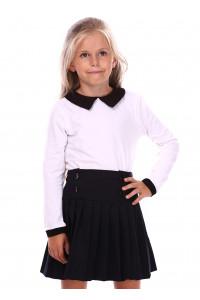 Джемпер «Деріт» білого кольору з чорним