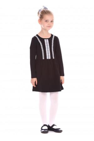 Платье «Ламанта» черного цвета