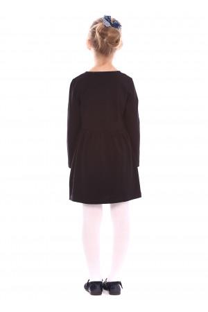 Сукня «Ламанта» чорного кольору