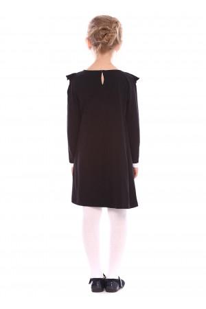 Платье «Калери» черного цвета