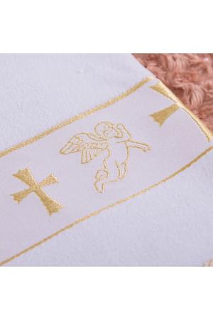 Крыжма-полотенце «Крещение» белого цвета