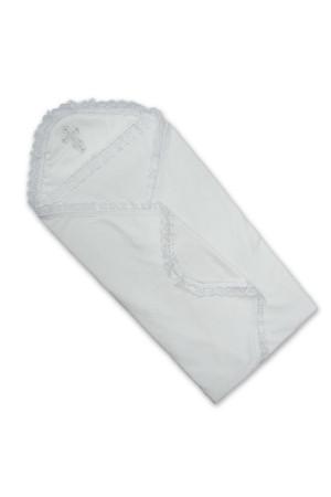 Крижма «Символ віри» білого кольору