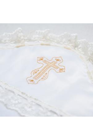 Крыжма «Символ веры» молочного цвета
