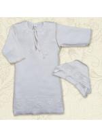 Сорочка для хрещення «Яночка-2» молочного кольору