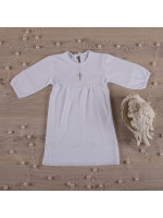 Сорочка для хрещення «Поліночка» білого кольору