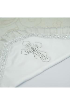 Крижма «Діамант» білого кольору