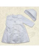 Костюм для крещения «Мечта» белого цвета