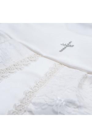 Костюм для хрещення «Мрія» білого кольору