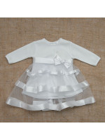 Платье «Маленькая леди» белого цвета