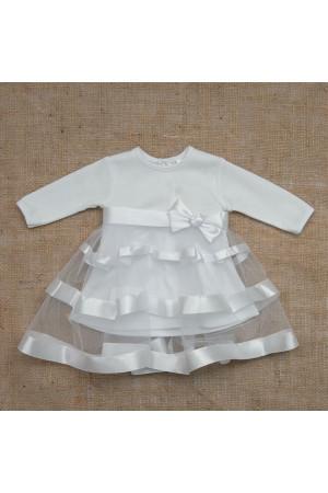 Сукня «Маленька леді» білого кольору