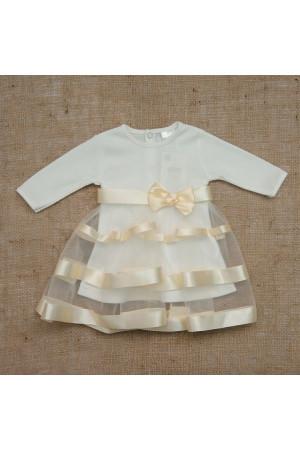 Сукня «Маленька леді» молочного кольору