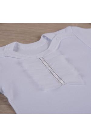 Боді для дівчинки «Святковий» білого кольору