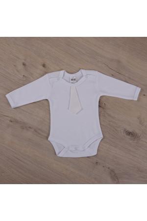 Боді для хлопчика «Святковий» білого кольору