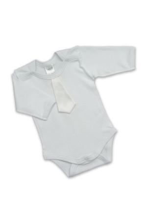 Боді для хлопчика «Святковий» молочного кольору