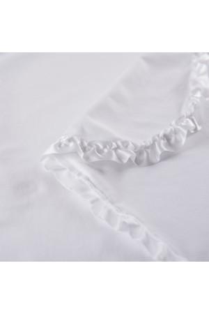 Крижма «Ніка» білого кольору