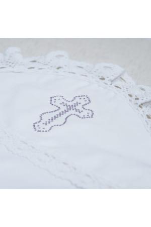 Крыжма «Праздник» белого цвета