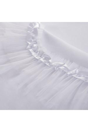 Крыжма «Сияние» белого цвета