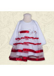 Сукня «Маленька леді» червоного кольору