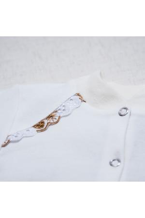 Костюм для хрещення «Святік» білого кольору