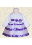 Сукня «Маленька леді» фіолетового кольору