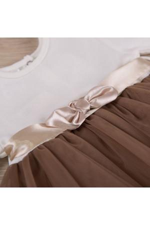 Сукня «Ніжність 2» кавового кольору