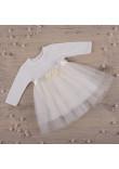 Сукня «Ніжність 2» молочного кольору